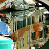 Reflections in one of Venice's canals