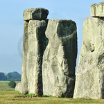 Trilithon ring at Stonehenge in England at the summer solstice