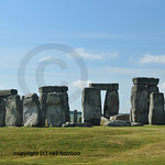 Visitors to the prehistoric stone ring at Stonehenge are allowed close to without touching the monument